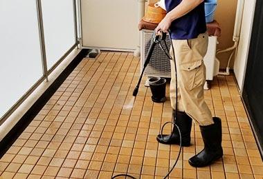 ベランダ・バルコニー清掃の画像
